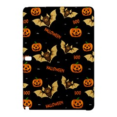 Bat, Pumpkin And Spider Pattern Samsung Galaxy Tab Pro 12 2 Hardshell Case by Valentinaart