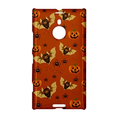 Bat, Pumpkin And Spider Pattern Nokia Lumia 1520 by Valentinaart