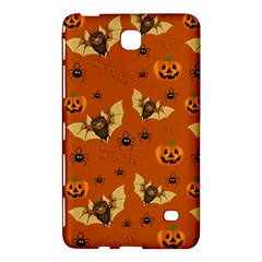 Bat, Pumpkin And Spider Pattern Samsung Galaxy Tab 4 (7 ) Hardshell Case  by Valentinaart