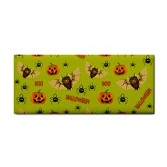 Bat, Pumpkin And Spider Pattern Cosmetic Storage Cases by Valentinaart