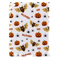 Bat, Pumpkin And Spider Pattern Apple Ipad 3/4 Hardshell Case (compatible With Smart Cover) by Valentinaart