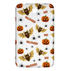 Bat, Pumpkin And Spider Pattern Samsung Galaxy Tab 3 (7 ) P3200 Hardshell Case  by Valentinaart