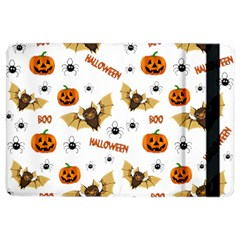 Bat, Pumpkin And Spider Pattern Ipad Air 2 Flip by Valentinaart