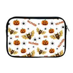 Bat, Pumpkin And Spider Pattern Apple Macbook Pro 17  Zipper Case by Valentinaart