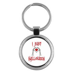 I Just Love Halloween Key Chains (round)  by Valentinaart