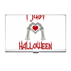 I Just Love Halloween Business Card Holders by Valentinaart
