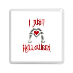 I Just Love Halloween Memory Card Reader (square)  by Valentinaart