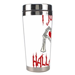 I Just Love Halloween Stainless Steel Travel Tumblers by Valentinaart