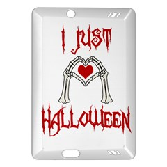 I Just Love Halloween Amazon Kindle Fire Hd (2013) Hardshell Case by Valentinaart
