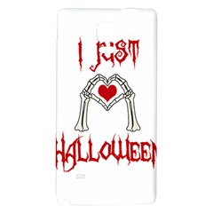 I Just Love Halloween Galaxy Note 4 Back Case
