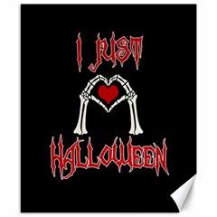 I Just Love Halloween Canvas 8  X 10  by Valentinaart