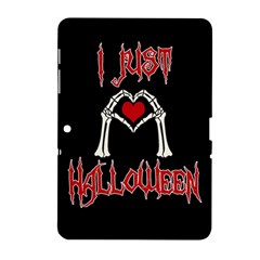 I Just Love Halloween Samsung Galaxy Tab 2 (10 1 ) P5100 Hardshell Case  by Valentinaart