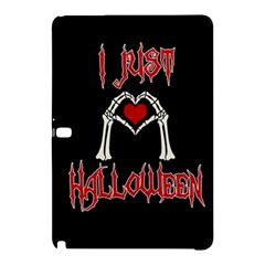 I Just Love Halloween Samsung Galaxy Tab Pro 10 1 Hardshell Case by Valentinaart