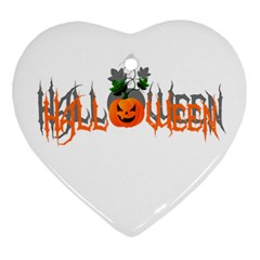 Halloween Ornament (heart)