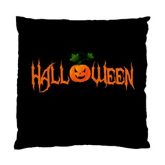 Halloween Standard Cushion Case (one Side) by Valentinaart