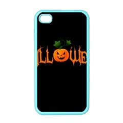 Halloween Apple Iphone 4 Case (color) by Valentinaart