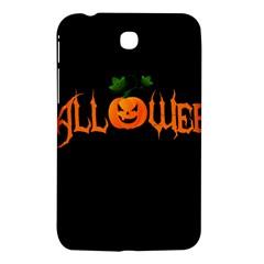 Halloween Samsung Galaxy Tab 3 (7 ) P3200 Hardshell Case  by Valentinaart