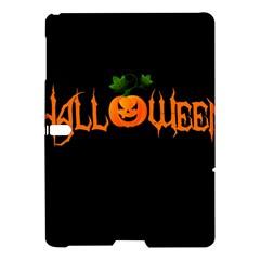 Halloween Samsung Galaxy Tab S (10 5 ) Hardshell Case  by Valentinaart