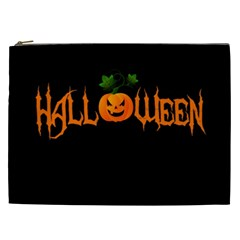 Halloween Cosmetic Bag (xxl)  by Valentinaart