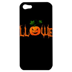 Halloween Apple Iphone 5 Hardshell Case by Valentinaart