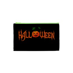 Halloween Cosmetic Bag (xs) by Valentinaart