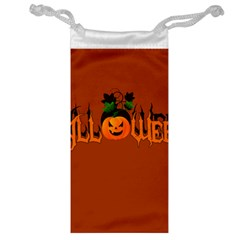 Halloween Jewelry Bag by Valentinaart
