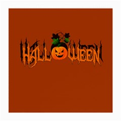 Halloween Medium Glasses Cloth (2 Side) by Valentinaart