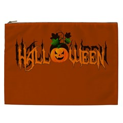 Halloween Cosmetic Bag (xxl)  by Valentinaart