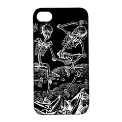 Skeletons   Halloween Apple Iphone 4/4s Hardshell Case With Stand by Valentinaart