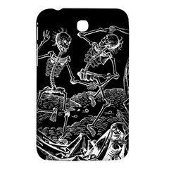 Skeletons   Halloween Samsung Galaxy Tab 3 (7 ) P3200 Hardshell Case  by Valentinaart
