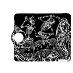 Skeletons   Halloween Kindle Fire Hdx 8 9  Flip 360 Case by Valentinaart