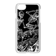 Skeletons   Halloween Apple Iphone 7 Seamless Case (white) by Valentinaart