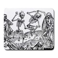 Skeletons   Halloween Large Mousepads by Valentinaart