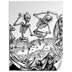 Skeletons   Halloween Canvas 18  X 24   by Valentinaart