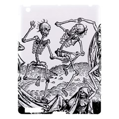 Skeletons   Halloween Apple Ipad 3/4 Hardshell Case by Valentinaart
