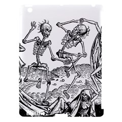 Skeletons   Halloween Apple Ipad 3/4 Hardshell Case (compatible With Smart Cover) by Valentinaart