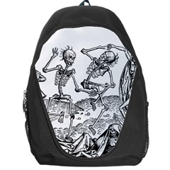 Skeletons   Halloween Backpack Bag by Valentinaart