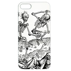 Skeletons   Halloween Apple Iphone 5 Hardshell Case With Stand by Valentinaart