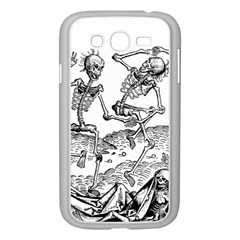 Skeletons   Halloween Samsung Galaxy Grand Duos I9082 Case (white)