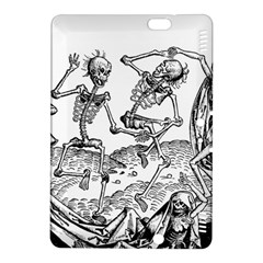Skeletons   Halloween Kindle Fire Hdx 8 9  Hardshell Case by Valentinaart