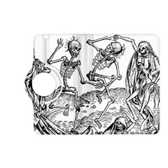 Skeletons   Halloween Kindle Fire Hd (2013) Flip 360 Case by Valentinaart