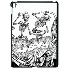 Skeletons   Halloween Apple Ipad Pro 9 7   Black Seamless Case by Valentinaart