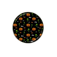 Pumpkins   Halloween Pattern Hat Clip Ball Marker by Valentinaart