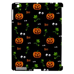 Pumpkins   Halloween Pattern Apple Ipad 3/4 Hardshell Case (compatible With Smart Cover) by Valentinaart