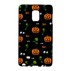 Pumpkins   Halloween Pattern Galaxy Note Edge by Valentinaart