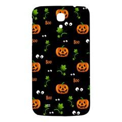 Pumpkins   Halloween Pattern Samsung Galaxy Mega I9200 Hardshell Back Case by Valentinaart