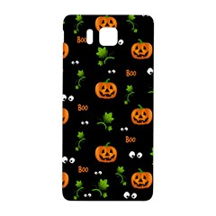 Pumpkins   Halloween Pattern Samsung Galaxy Alpha Hardshell Back Case by Valentinaart