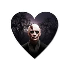 Zombie Heart Magnet by Valentinaart