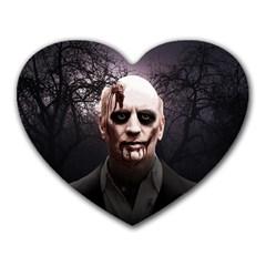Zombie Heart Mousepads by Valentinaart