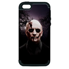 Zombie Apple Iphone 5 Hardshell Case (pc+silicone) by Valentinaart
